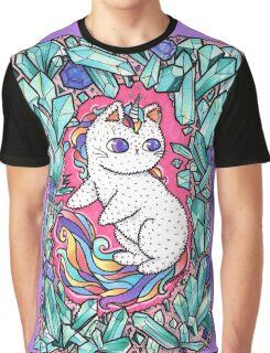 Unicorn  kitty Graphic T-Shirt