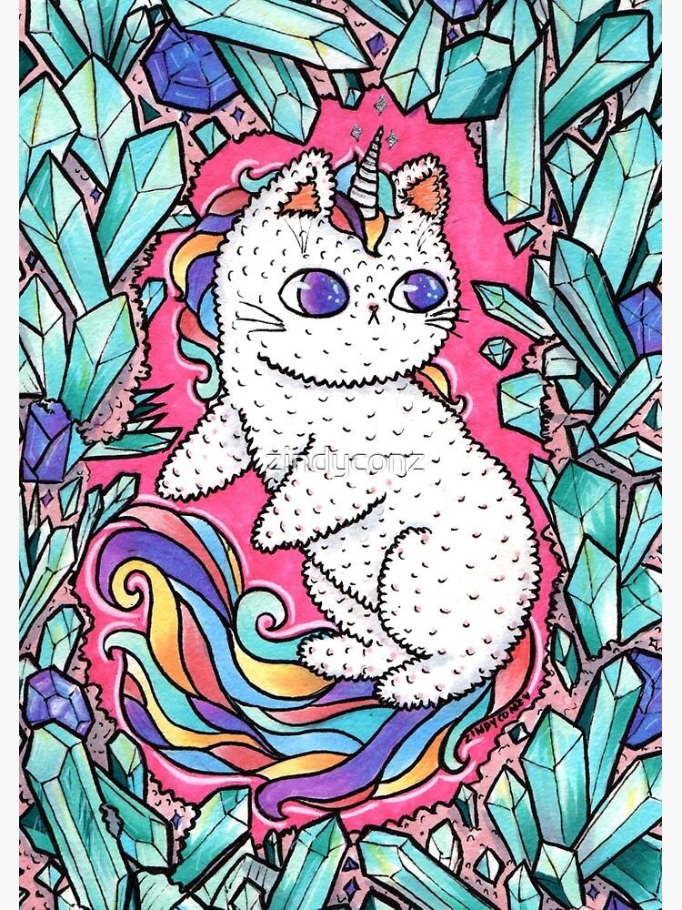 Unicorn  kitty by zindyconz