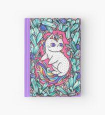 Unicorn  kitty Hardcover Journal