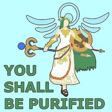 PALUTENA | Super Smash Taunts | You shall be purified by Rotom479