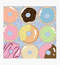 Delightful Donuts! Photographic Print