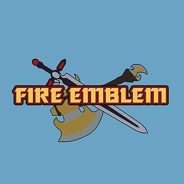 BLAZING BLADE | Fire Emblem Titles by Rotom479