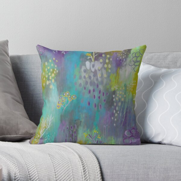 Vision of Spring II Throw Pillow