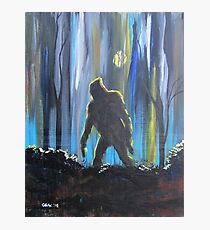 Bigfoot by Moonlight Photographic Print