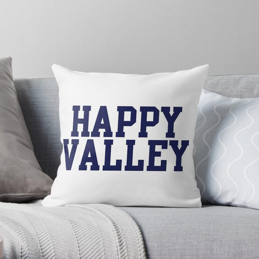 happy valley navy varsity Cojín