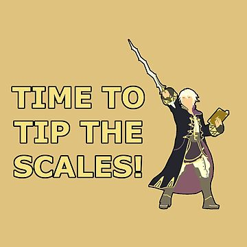 ROBIN | Super Smash Taunts | Time to tip the scales! by Rotom479