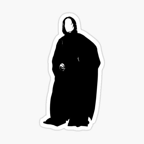 Severus Snape Silhouette Sticker
