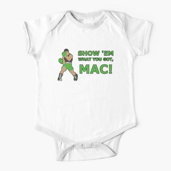 LITTLE MAC | Super Smash Taunts | Show 'em what you got, Mac! Short Sleeve Baby One-Piece