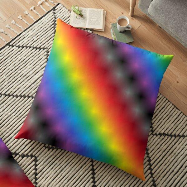 Colors, Color Gradient Floor Pillow