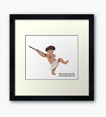Maha the Mucatan Boy Framed Print