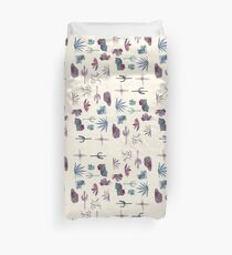 Southwest Watercolor Pattern Duvet Cover