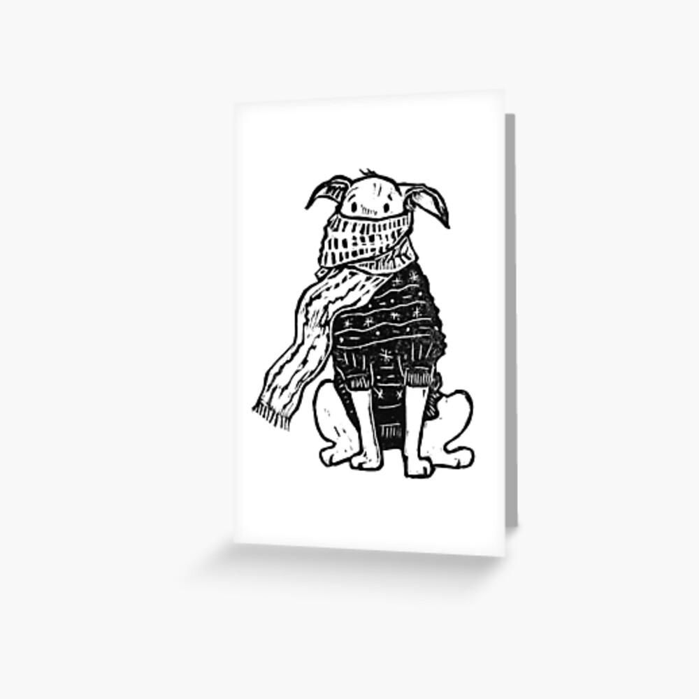 Sweater weather Greeting Card