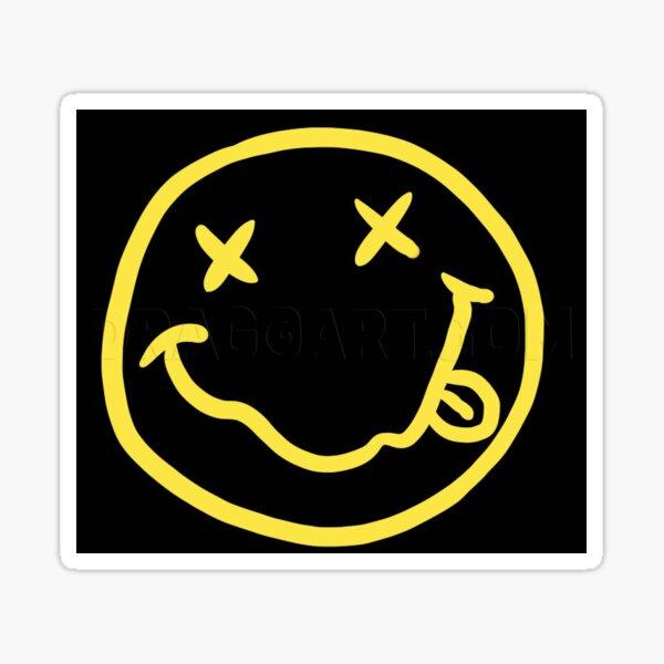 Nirvana logo stickers Sticker