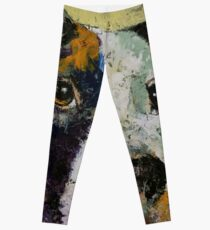Pit Bull Portrait Leggings