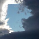 Illuminati Confirmed -- Unnatural Right Angle Cloud Formation by Digby