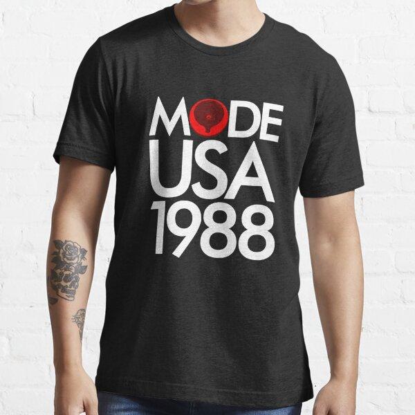 Depeche Mode Music for the Masses Speaker White Essential T-Shirt