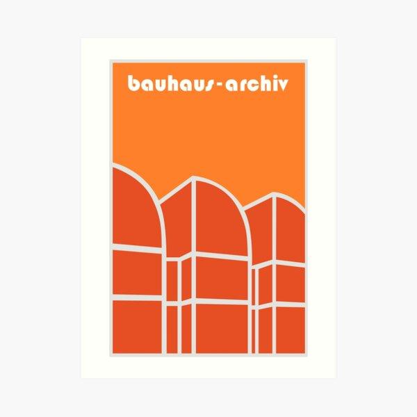 Bauhaus Archiv #58 Art Print