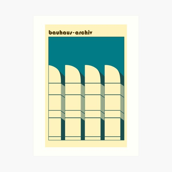Bauhaus Archiv #60 Art Print