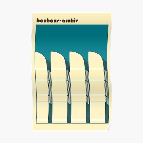 Bauhaus Archiv #60 Poster