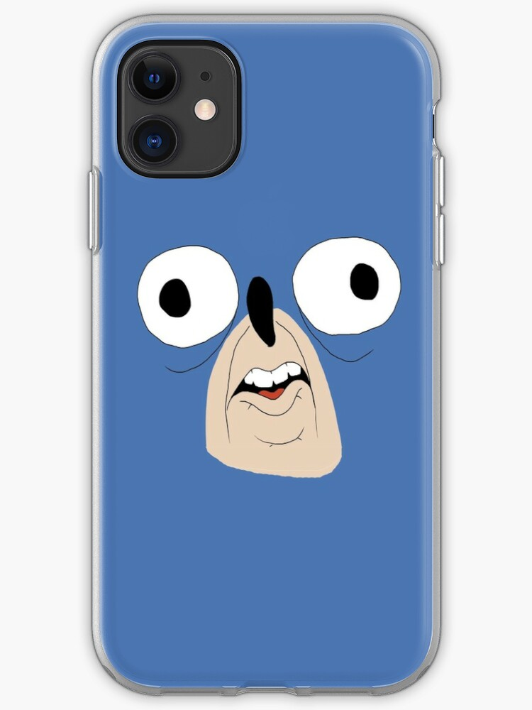 Sonic The Hedgehog face iphone case