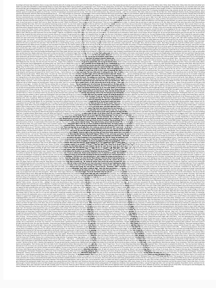Barry Bee Benson - Bee Movie | Unisex T-Shirt