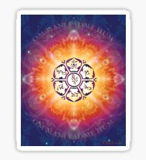 """Om Mani Padme Hum - Embodiment of Compassion"" Sticker"