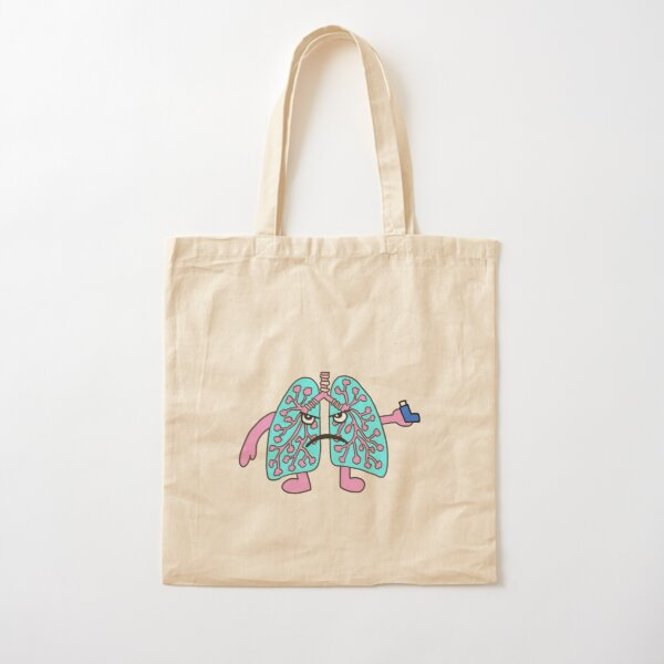 Grumpy Lungs Cotton Tote Bag