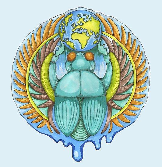 Earth Creation Beetle by ImogenSmid