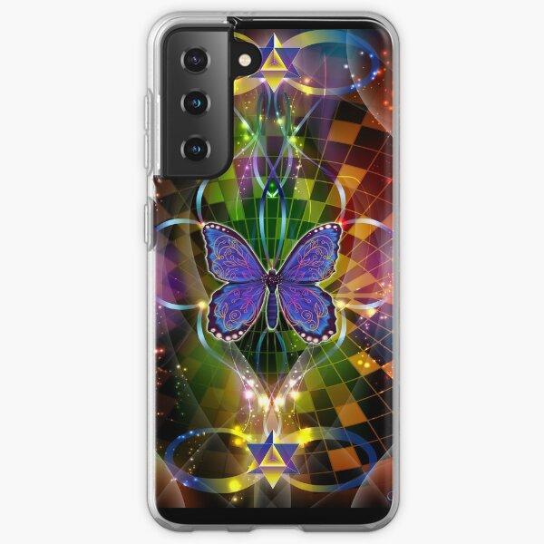 Multidimensional  Transformation - Sacred Geometry  Samsung Galaxy Soft Case