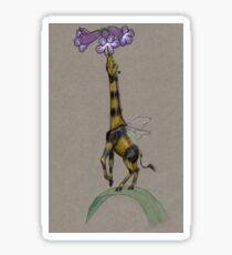 Bumble Giraffe Sticker