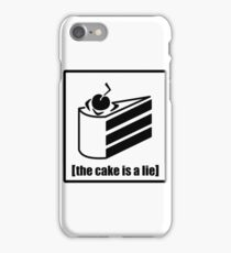 The Cake is a Lie - Portal iPhone Case/Skin