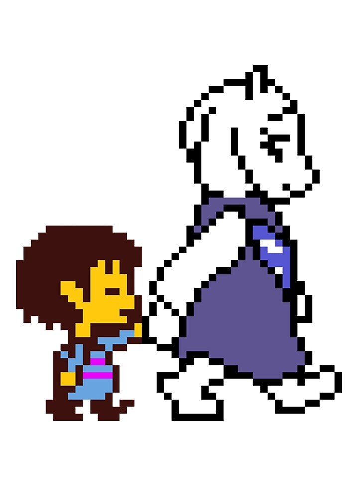 Quot Undertale Walking With Goat Lady Quot By Sarahisretarded