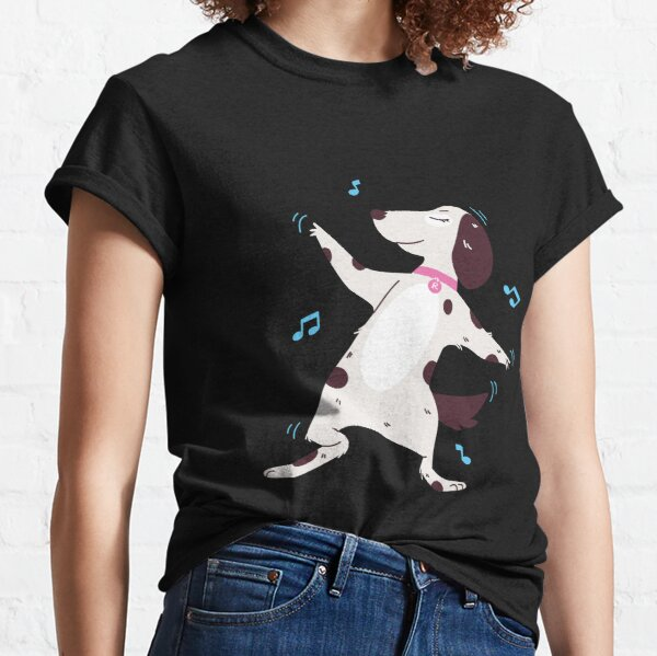 Cute Dog Dancing  Classic T-Shirt