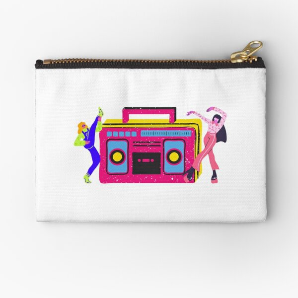 Cute Funny Dancing Couple  Zipper Pouch