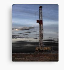 Black Gold Rush Canvas Print