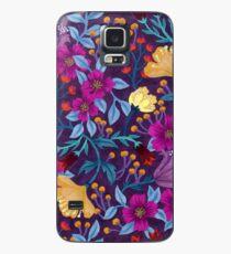 Funda/vinilo para Samsung Galaxy Floral