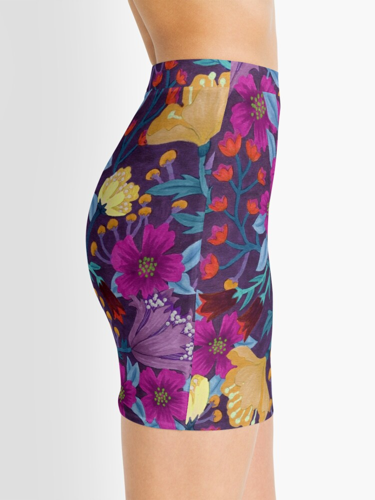 Alternate view of Floral Mini Skirt