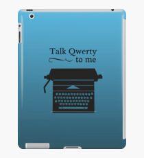Funny Geeky Typewriter iPad Case/Skin