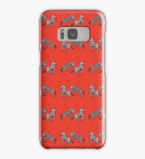 Pattern of The Royal Tenenbaums Samsung Galaxy Case/Skin