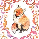 Fox - From the Woodland Series by Katherine Appleby