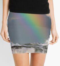 Colour Above a Candy Sea Mini Skirt