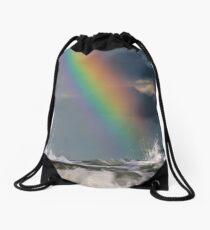 Colour Above a Candy Sea Drawstring Bag