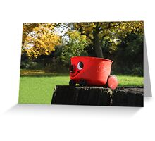 cleaning nature  Greeting Card