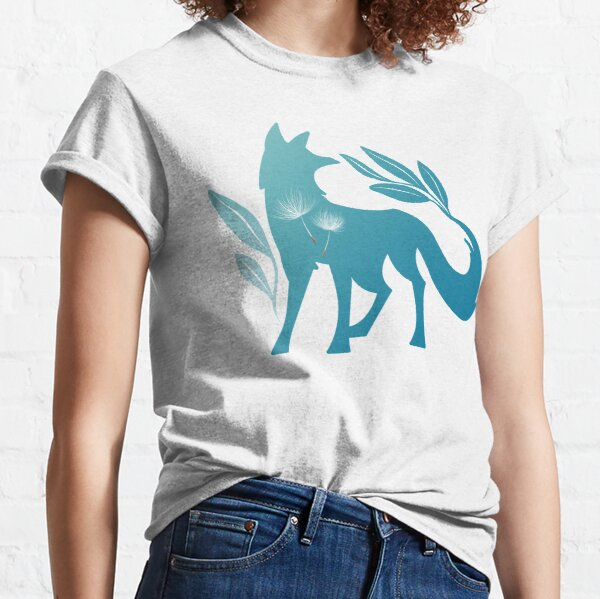 Fox Mountains with Dandelion Classic T-Shirt