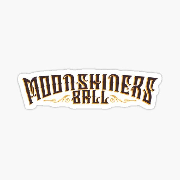 Moonshiners ball Sticker