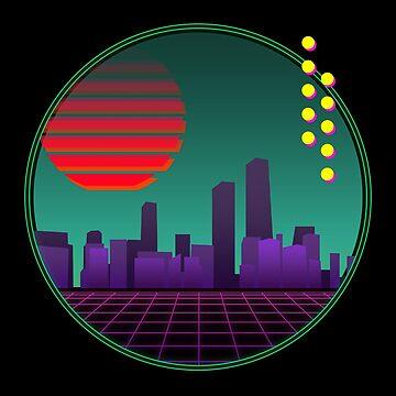 City Skyline by narufry