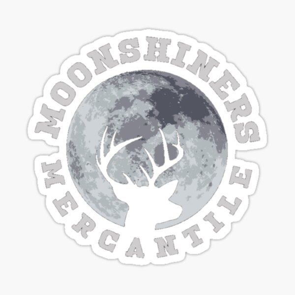 Moonshiners Mercantile Sticker