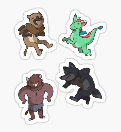 Mythical Minis Sticker