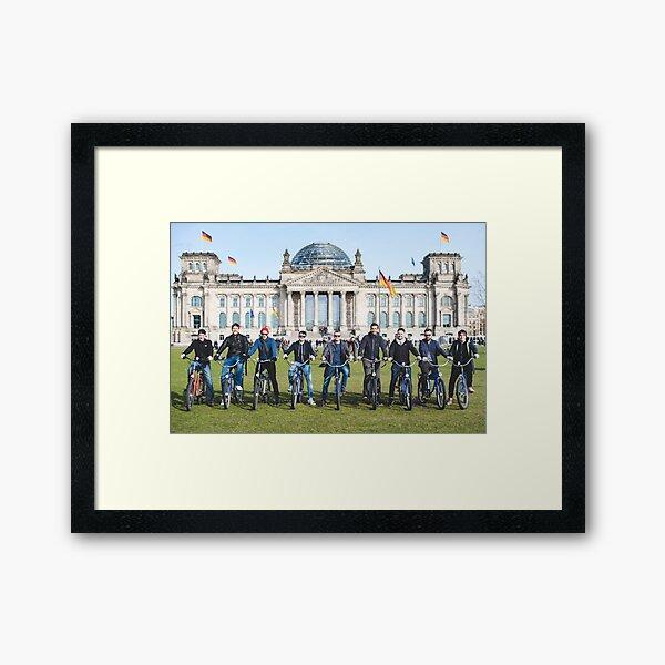 Berlin Bike Tour Framed Art Print