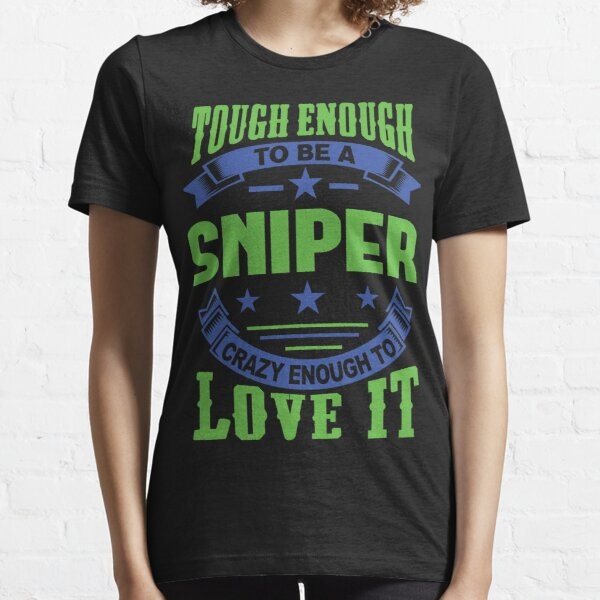 BOYS BRITISH ARMY SNIPER T-SHIRT OUT OF SIGHT OUT OF MIND AIRSOFT HUNTING TOP